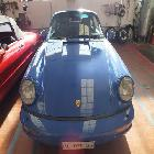 Porsche 911 (964) Carrera 4, 1991 Full Optional, interni Blu